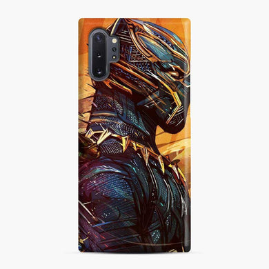 Black Panther Side Samsung Galaxy Note 10 Plus Case, Snap Case