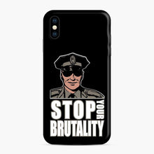 Load image into Gallery viewer, Blue Lives Murder iPhone XS Max Case