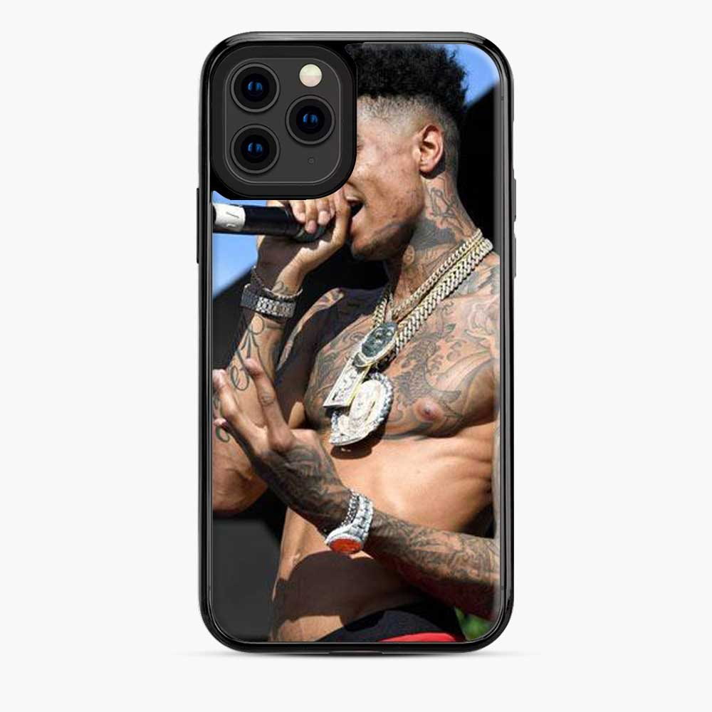 Blueface First Live Pic iPhone 11 Pro Case