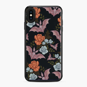 Botanical Moths And Night Flowers iPhone XS Max Case