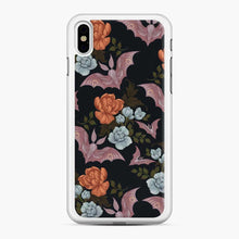 Load image into Gallery viewer, Botanical Moths And Night Flowers iPhone XS Max Case