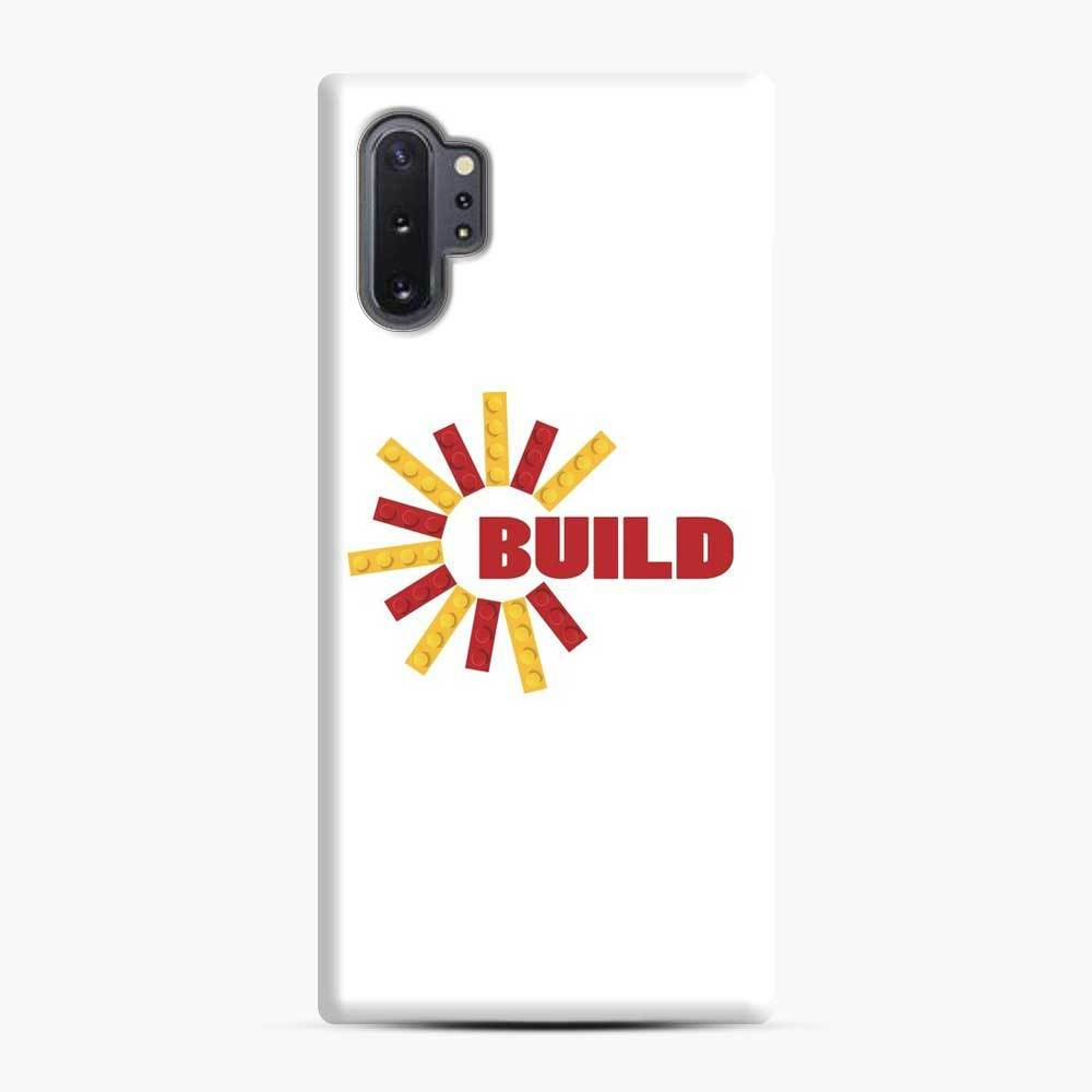Build With Bricks Lego Samsung Galaxy Note 10 Plus Case, Snap Case
