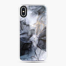 Load image into Gallery viewer, Calm But Dramatic Light Monochromatic Black Grey Abstract iPhone XS Max Case