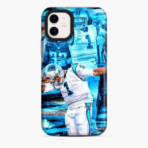 Cam Newton Carolina Panthers Dabbing iPhone 11 Case