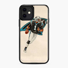 Load image into Gallery viewer, Cam Newton Carolina Panthers Painting iPhone 11 Case