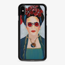 Load image into Gallery viewer, Capsules Converted Into Beads For A World Icon Diadem Frida Kahlo iPhone X/XS Case