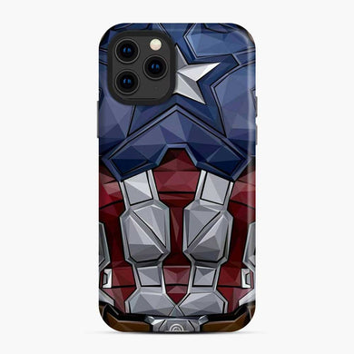 Captain America iPhone 11 Pro Case, Snap Case