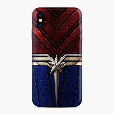 Captain Marvel iPhone XS Max Case, Snap Case