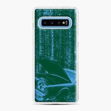 Load image into Gallery viewer, Car In A Forest Photographic Trippie Redd Samsung Galaxy S10 Case, White Plastic Case