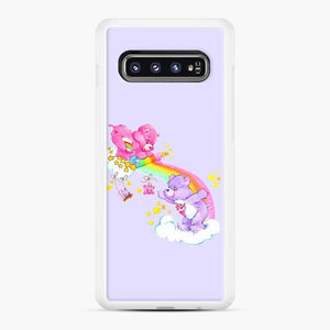 Care Bears 10 Samsung Galaxy S10 Case, White Rubber Case