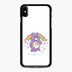 Care Bears 12 iPhone XS Max Case, Black Rubber Case