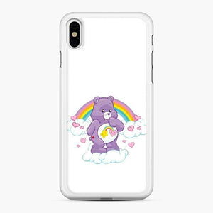 Care Bears 12 iPhone XS Max Case, White Rubber Case