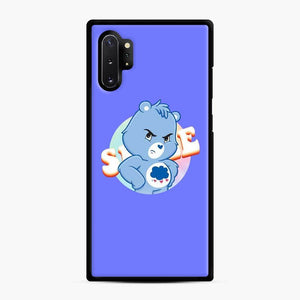 Care Bears 19 Samsung Galaxy Note 10 Plus Case, Black Rubber Case