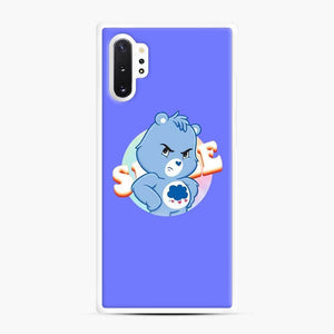 Care Bears 19 Samsung Galaxy Note 10 Plus Case, White Rubber Case