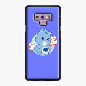 Care Bears 19 Samsung Galaxy Note 9 Case, Black Plastic Case