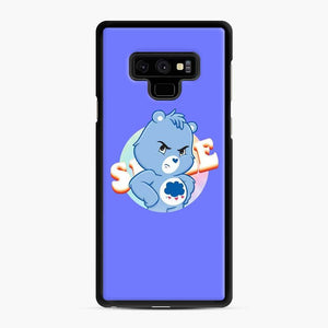 Care Bears 19 Samsung Galaxy Note 9 Case, Black Rubber Case