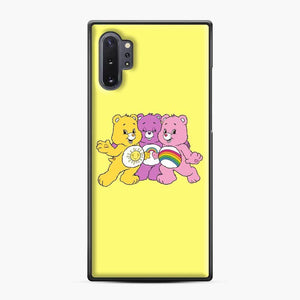 Care Bears 20 Samsung Galaxy Note 10 Plus Case, Black Plastic Case