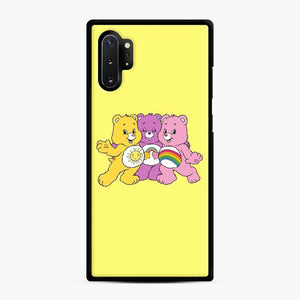 Care Bears 20 Samsung Galaxy Note 10 Plus Case, Black Rubber Case