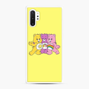 Care Bears 20 Samsung Galaxy Note 10 Plus Case, White Rubber Case