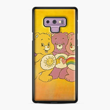 Load image into Gallery viewer, Care Bears 4 Samsung Galaxy Note 9 Case, Black Plastic Case