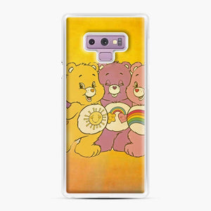 Care Bears 4 Samsung Galaxy Note 9 Case, White Plastic Case