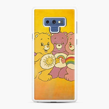 Load image into Gallery viewer, Care Bears 4 Samsung Galaxy Note 9 Case, White Rubber Case