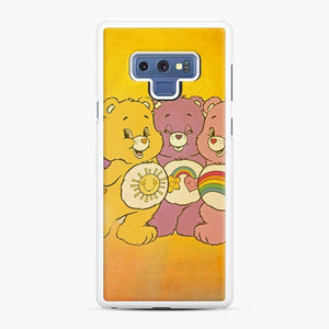 Care Bears 4 Samsung Galaxy Note 9 Case, White Rubber Case