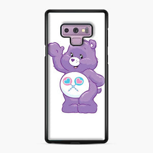 Care Bears 5 Samsung Galaxy Note 9 Case, Black Plastic Case
