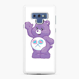 Care Bears 5 Samsung Galaxy Note 9 Case, White Rubber Case