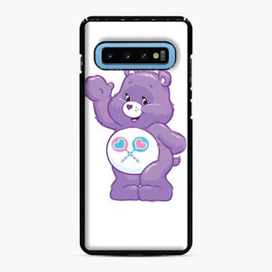Care Bears 5 Samsung Galaxy S10 Case, Black Plastic Case