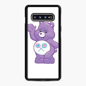 Care Bears 5 Samsung Galaxy S10 Case, Black Rubber Case