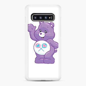 Care Bears 5 Samsung Galaxy S10 Case, White Rubber Case