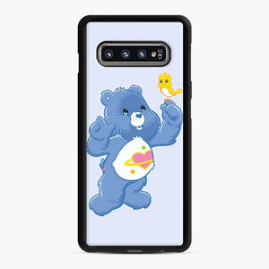 Care Bears 7 Samsung Galaxy S10 Case, Black Rubber Case