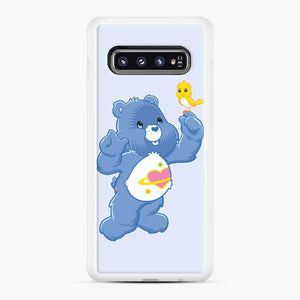 Care Bears 7 Samsung Galaxy S10 Case, White Rubber Case