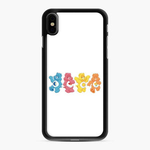 Care Bears 9 iPhone XS Max Case, Black Rubber Case