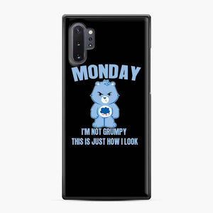Care Bears Black Lives Monday Samsung Galaxy Note 10 Plus Case, Black Plastic Case