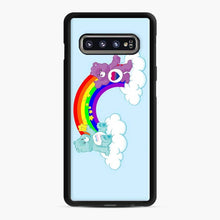 Load image into Gallery viewer, Care Bears Lgbti Samsung Galaxy S10 Case, Black Rubber Case
