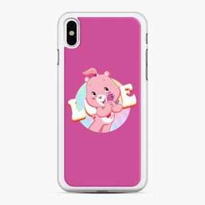 Care Bears Love 1 iPhone XS Max Case, White Rubber Case