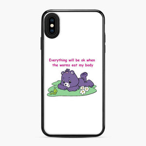 Care Bears Love 12 iPhone XS Max Case, Black Plastic Case