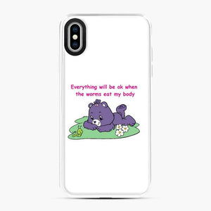 Care Bears Love 12 iPhone XS Max Case, White Plastic Case