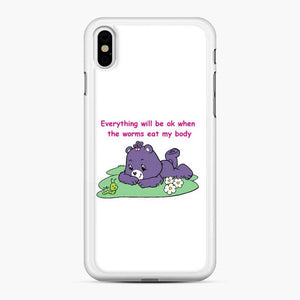 Care Bears Love 12 iPhone XS Max Case, White Rubber Case