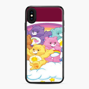 Care Bears Love 18 iPhone XS Max Case, Black Plastic Case