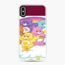 Load image into Gallery viewer, Care Bears Love 18 iPhone XS Max Case, White Plastic Case