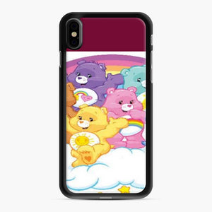 Care Bears Love 18 iPhone XS Max Case, Black Rubber Case