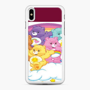 Care Bears Love 18 iPhone XS Max Case, White Rubber Case