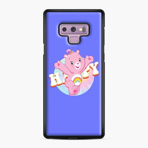 Care Bears Love 21 Samsung Galaxy Note 9 Case, Black Plastic Case