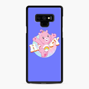 Care Bears Love 21 Samsung Galaxy Note 9 Case, Black Rubber Case