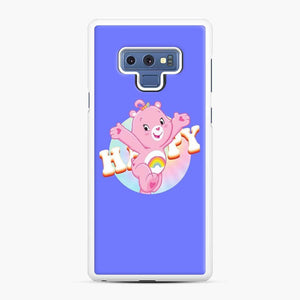 Care Bears Love 21 Samsung Galaxy Note 9 Case, White Rubber Case
