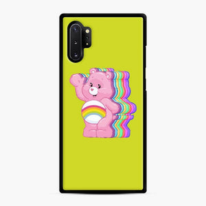 Care Bears Love 23 Samsung Galaxy Note 10 Plus Case, Black Rubber Case