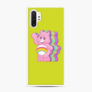 Care Bears Love 23 Samsung Galaxy Note 10 Plus Case, White Rubber Case